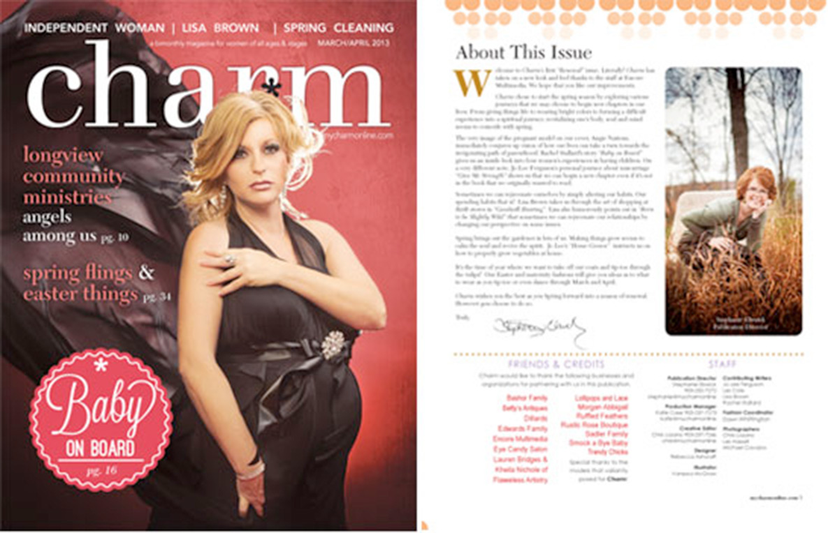 Encore Gives Charm Magazine a New Look