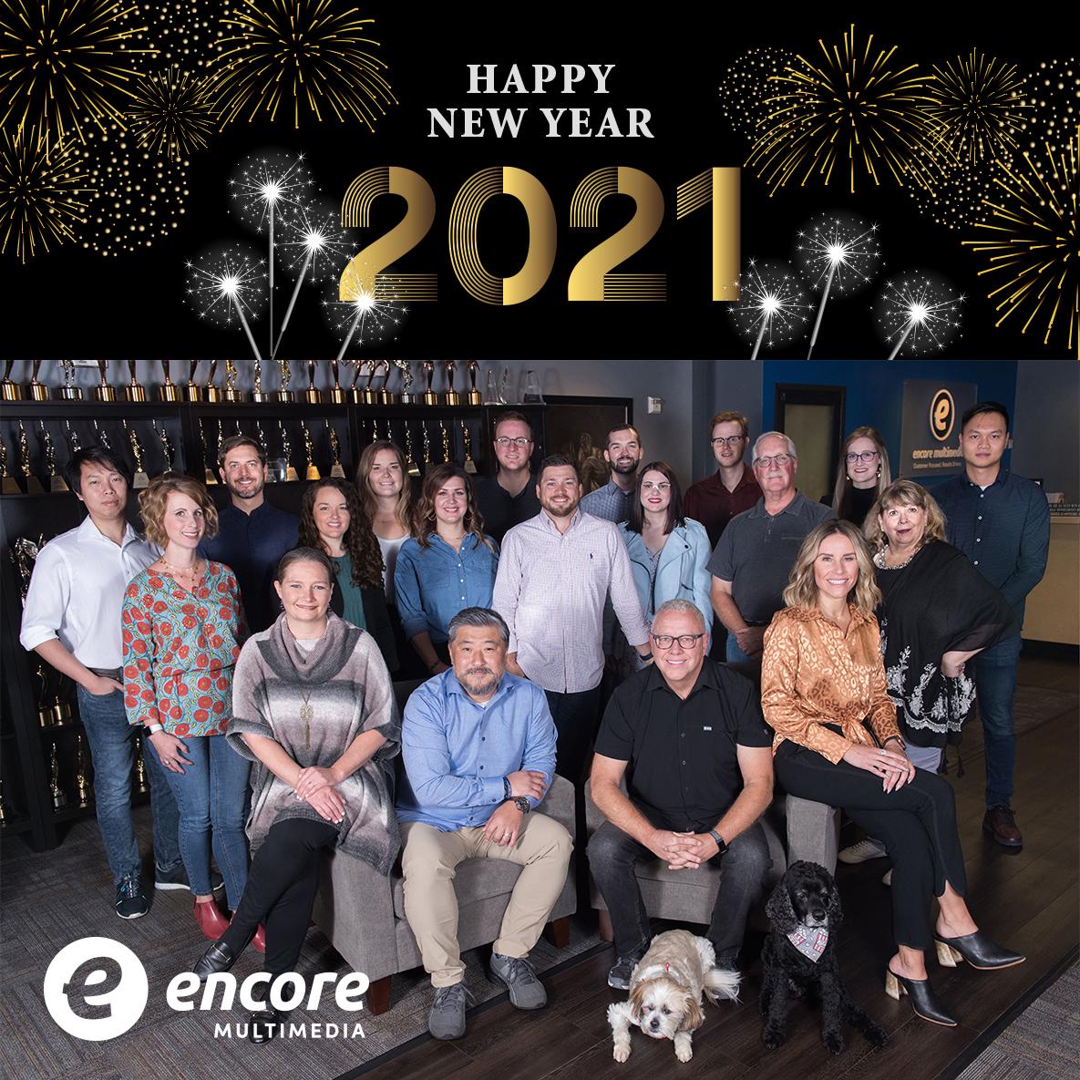 Encore 2020-2021 Team Photo
