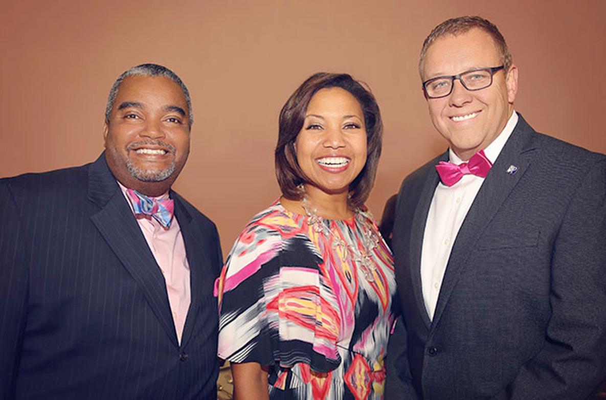 Encore's Dean & Tye at Supports Think Pink Event by Good Shepherd Medical Center