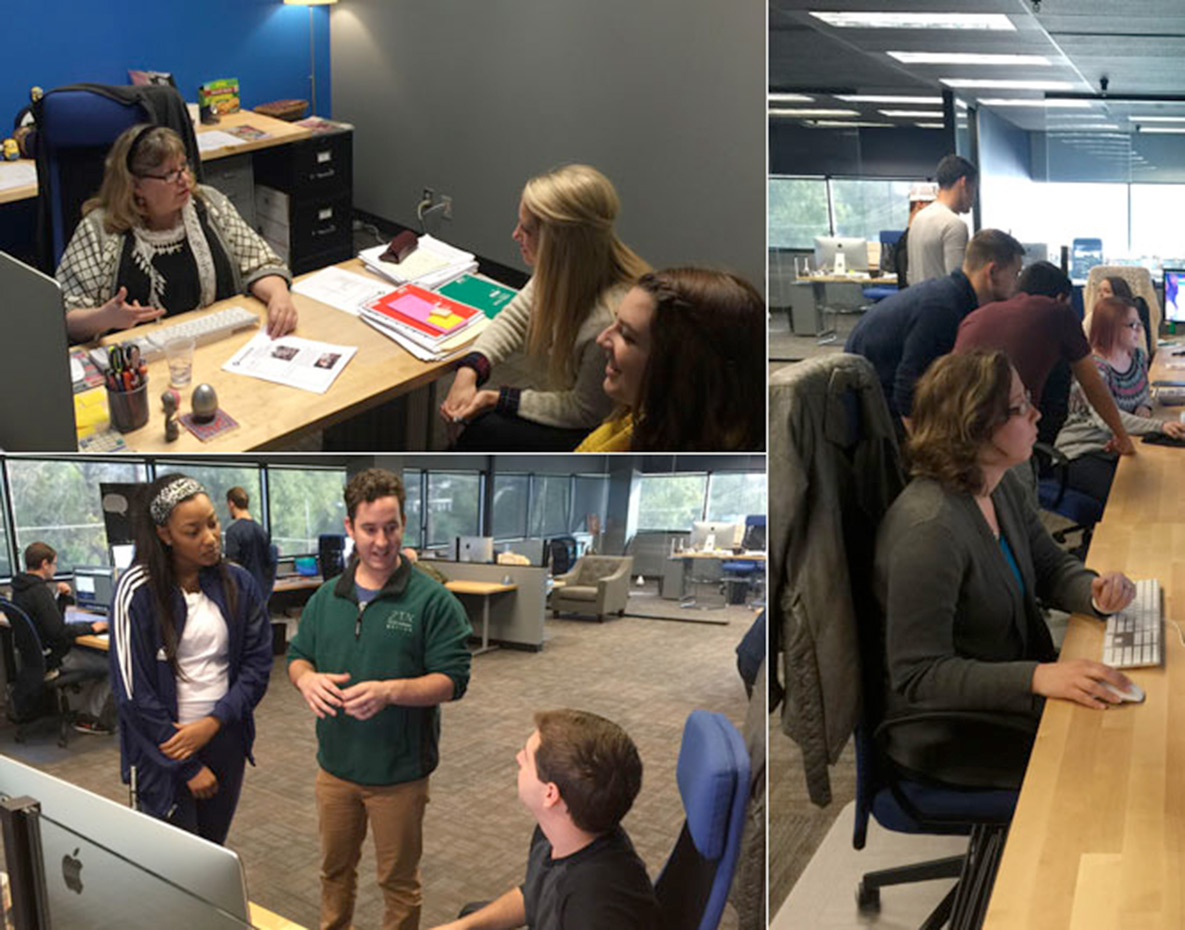 East Texas Baptist University Marketing Spends a Day at Encore Multimedia