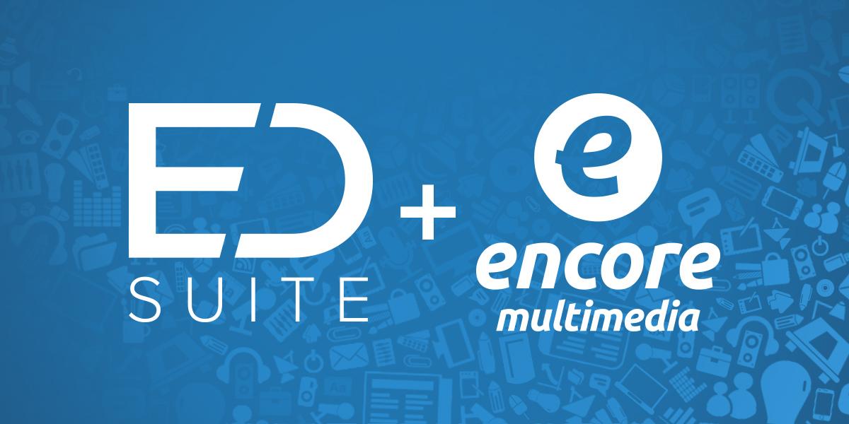 ED Suite + Encore logos