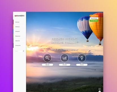 APEX Analytix(R) Responsive Website