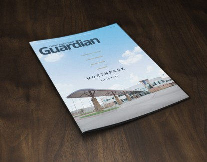 Guardian Magazine cover