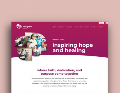 Newgate Mission website thumbnail
